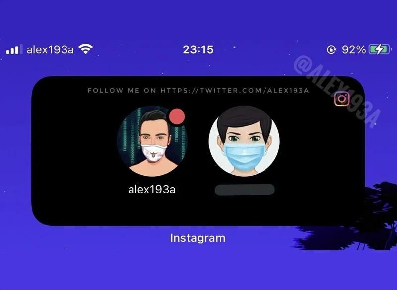 Instagram is working on a widget for users with multiple accounts