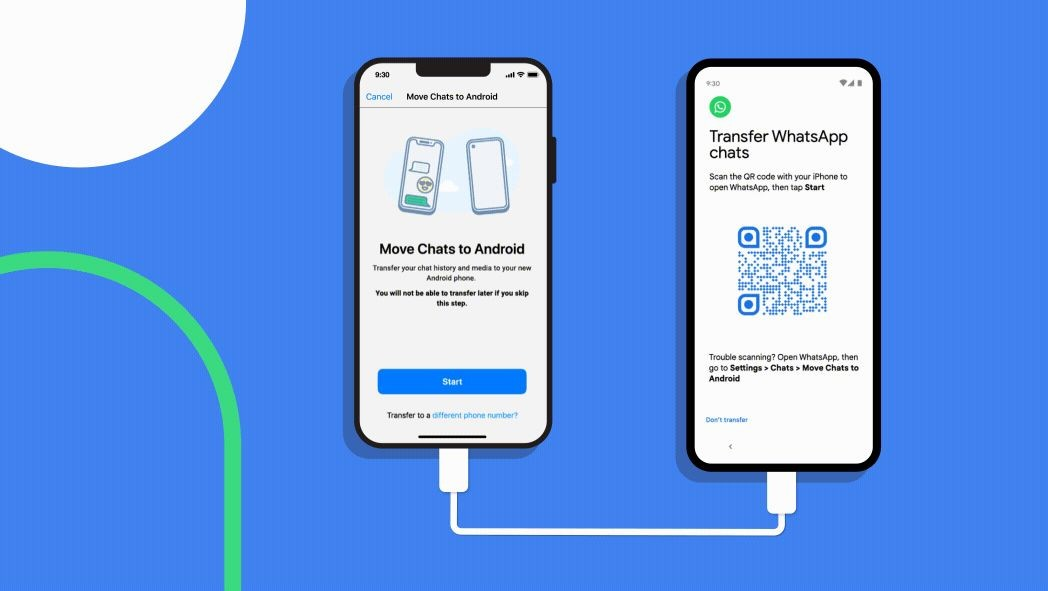 Users can now transfer WhatsApp chats from iOS to Pixel and other Android 12 devices