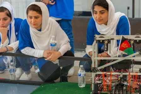 Afghanistan's all-girls robotics team reportedly desperate to escape country
