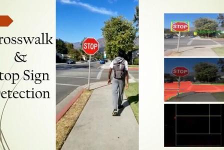AI-powered backpack navigates blind pedestrians