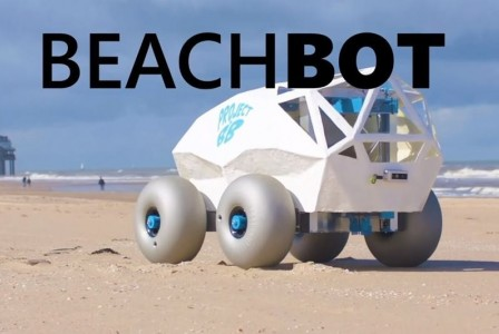 BeachBot an AI-powered robot that cleans cigarette butts at the beach