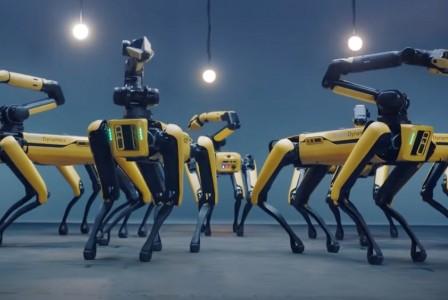 Boston Dynamics' Spot robots dance to BTS