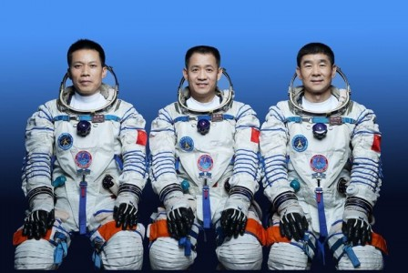 China sending first crew to its new space station tomorrow