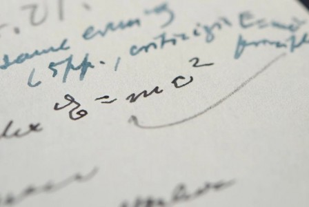 Handwritten letter by Albert Einstein with E=mc2 equation gets $1.2M at auction