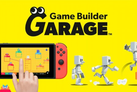 Nintendo announces Game Builder Garage - The easiest way to make your own games