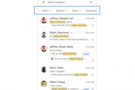 Gmail's new filters make it easier to find your emails