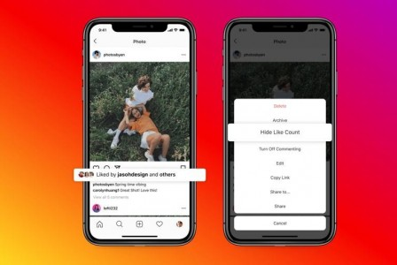 Instagram will now let all users hide likes on posts