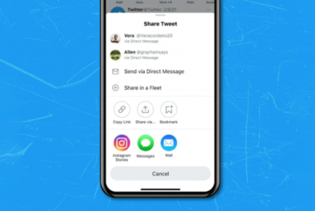 Twitter iOS app allows users to share tweets directly on Instagram Stories