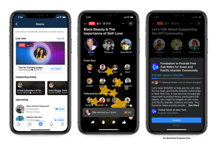 Facebook: Κυκλοφόρησε επίσημα τα Live Audio Rooms παγκοσμίως