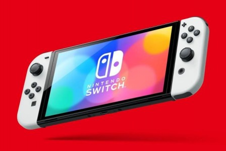 New Nintendo Switch model with 7-inch OLED screen