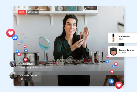 Facebook introduces Live Shopping video feature
