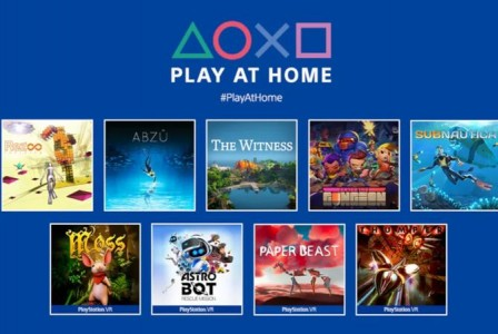 Play At Home returns: Free games for PlayStation owners