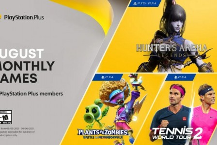 PlayStation Plus August 2021 free games announced