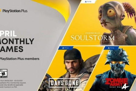 Free PS Plus games April 2021:  Oddworld: Soulstorm and Days Gone