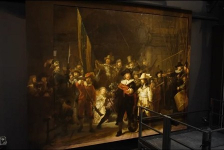 Rembrandt's Night Watch gets bigger thanks to AI