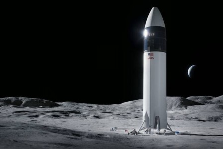 NASA has selected SpaceX to take people back to the moon