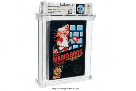 Sealed copy of Super Mario Bros sold for $660,000