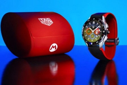 Tag Heuer reveals limited-edition Super Mario watch
