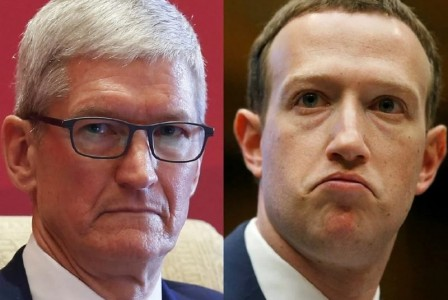 Apple threatened to remove Facebook from the App Store over human trafficking