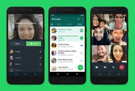 WhatsApp: Επιτρέπει τη συμμετοχή σε ομαδικές κλήσεις ενώ έχουν ξεκινήσει