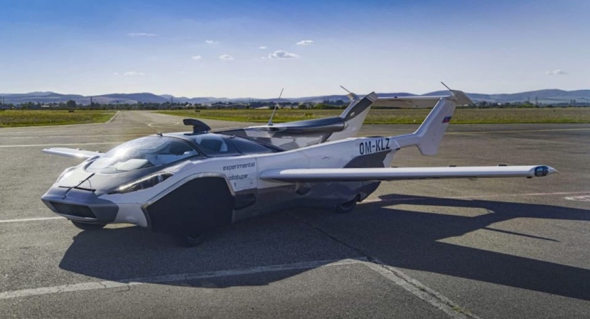AirCar flying car completes successful flight in Slovakia