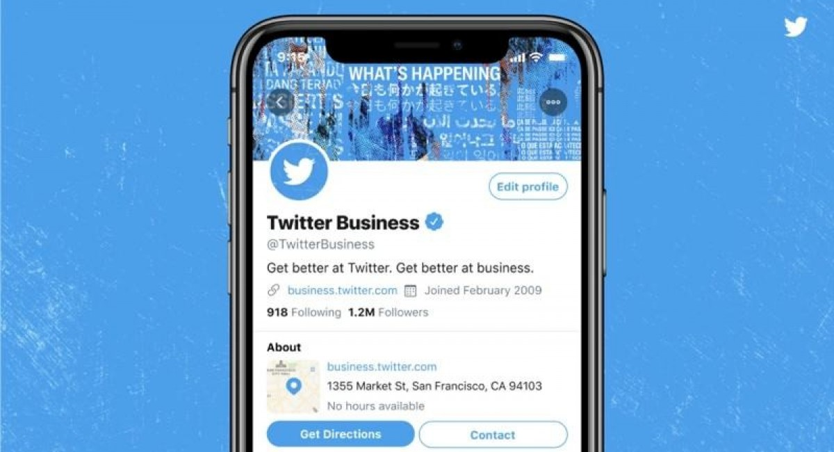 Twitter is testing Professional Profiles